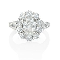 bf60fa89d6 Recently Purchased Engagement Ring  Client chose a certified oval center  diamond set within product