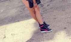 PUMA Sky Sneaker Wedge #pumastyle #puma Hole In Jean Pocket