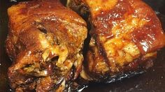 Phil's pulled pork and barbecue sauce