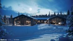 Østlaft - Lilly is Love Chalet Design, House Design, Mountain Cottage, Modern Kitchen Design, Real Estate, Cabin, Ski, Rustic, Lights
