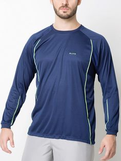 Camiseta Gola Careca manga longa - 125321 Camiseta Gola Careca a0ee3d2907207