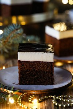 Pastries for Christmas Polish Cake Recipe, Polish Recipes, Polish Food, Baking Recipes, Cake Recipes, Polish Holidays, Small Cake, Food Cakes, Holiday Festival