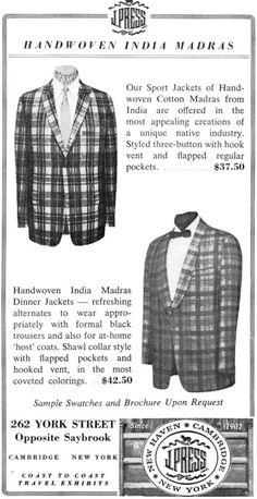 Retro Fashion, Vintage Fashion, Mens Fashion, Ivy Style, Dapper Dan, Sports Jacket, Gentleman Style, Vintage Men, Vintage Style