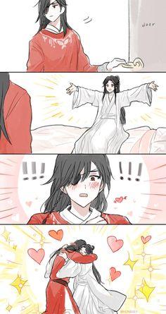 "HB on Twitter: ""… "" Me Anime, Anime Love, Anime Guys, Chinese Cartoon, Dibujos Cute, Cute Comics, Cute Chibi, The Grandmaster, Shounen Ai"