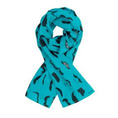 Aww, what a whimsical, mood lifting scarf, for big or little man. by Kidults
