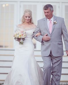 Dad's suit matters almost as much as the groom's, for visual styling