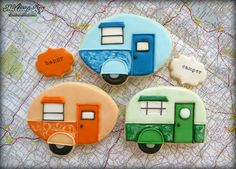 (^o^) C is for Cookie (^o^) ~ ☼ Holiday ☼ Summer ☼ Happy Camper Cookies by Melissa Joy