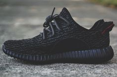 "Kanye West x Adidas Yeezy Boost 350 ""Pirate Black"""