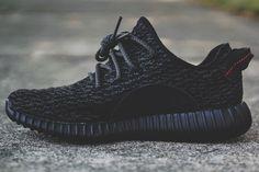 """Kanye West x Adidas Yeezy Boost 350 """"Pirate Black"""" http://www.skinnymefat.com"""