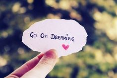 Go On Dreaming