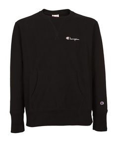 ada82f8c6 CHAMPION CHAMPION MEN'S BLACK COTTON SWEATSHIRT. #champion #cloth #
