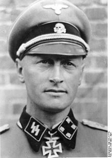 """SturmbannFuhrer Max Hanson, 11./1st Panzer Grenadier Regiment. """"LSSAH"""" It was whilst commanding this battalion during the Third Battle of Kharkov on 28 March 1943 that Hansen was awarded the Knight's Cross. His battalion broke through to Red Square in Kharkov, conducted house-to-house fighting and opened the way to the city centre, so that the northern part of Kharkov could be taken.[2]"""