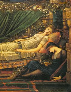 Sleeping Beauty Edward Burne Jones