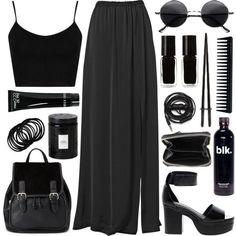 Pinterest // @kaysqueen  Outfits darks