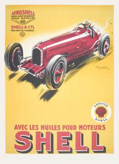 car poster 1934