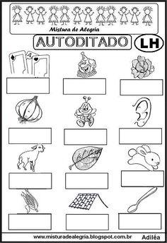 LIVRO DE AUTODITADOS, SÍLABAS COMPLEXAS, IMPRIMIR, COLORIR-Mistura de Alegria