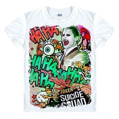Joker Suicide Squad shirt Mens Harley Quinn Joker T Shirt Rick Flagg Doctor Strange t-shirt costume cosplay unisex cool tees Cartoon Man, Cartoon T Shirts, Joker Character, Squad, Dc Comics, Adult Cartoons, Joker And Harley Quinn, T Shirt Costumes, You Draw