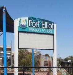 Port Elliot School Sign | Danthonia Designs