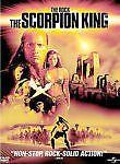 THE SCORPION KING (DVD,2002) MOVIE........FREE SHIPPING