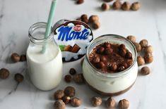 Proteinowe, domowe fit Monte - twój nowy, ulubiony deser! - Life Gym Hero Nutella, Panna Cotta, Keto, Pudding, Ethnic Recipes, Food, Smoothie, Puddings, Smoothies