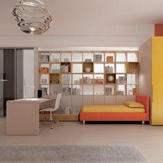 #Arredamento #cameretta catalogo Team for Young www.moretticompact.com