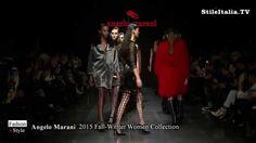 """Italian Fashion"" - ""Angelo Marani"" - ""2015 Fall Winter"" -  ""Women Colle..."