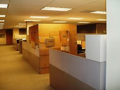 Don't let this be how you deal with having no workplace privacy! Screenflex temporary walls divide any office space or room in an instant, then returns it back just as fast. | Screenflex Portable Partitions #facilitymanagement #roomdividers