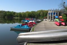 sharon woods boat house at Sharon Woods, Cincinnati