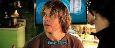 Easy, Tiger...