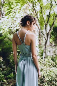 "Joanna August ""Parker"" Dress in Into The Mystic Photo: Danila Mednikov Location: Miracle Community Garden Hair: Styles on B Makeup: sb Beauty"