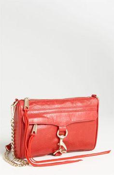Rebecca Minkoff 'Mini M.A.C.' Shoulder Bag | Nordstrom (love this shade!)