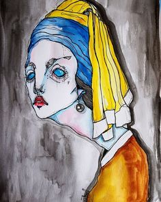 Anna Tsvell. Official Online Store - The Girl With A Pearl Earring, Tsvell view
