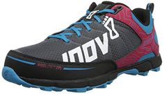 Inov8 Womens Roclite 295 Trail Running ShoeGreyBerryBlue9 W US *** You can find out more details at the link of the image.