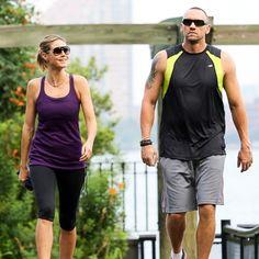Heidi Klum & bodyguard  www.thefirst10minutes.com
