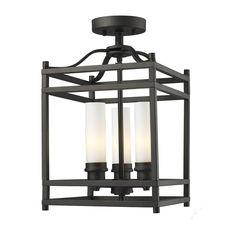 Altadore 3-light Bronze Chandelier | Overstock.com Shopping - Big Discounts on Z-Lite Flush Mounts