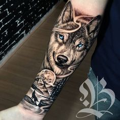 beelmoon - 0 results for tattoos Wolf Tattoo Forearm, Forarm Tattoos, Forearm Sleeve Tattoos, Dope Tattoos, Best Sleeve Tattoos, Tattoo Sleeve Designs, Tattoo Designs Men, Hand Tattoos, Tattoos For Guys