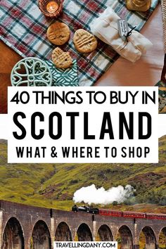 40 neat ideas for Scotland souvenirs for your next trip! Let's see what to buy and where to buy your Scottish gifts, with pet gift ideas! Scotland Road Trip, Scotland Vacation, Scotland Uk, England And Scotland, Edinburgh Scotland, Scotland Travel, Scotland Tours, Europe Travel Tips, Places To Travel