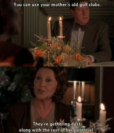Gilmore Girls - oh the passive-agression