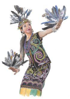 The Dayak Dance by Joemand on DeviantArt The Dayak Dance by Joemand.deviantar… on