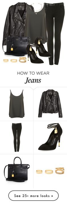 """Style #9455"" by vany-alvarado on Polyvore featuring H&M, Miss Selfridge, Tom Ford, Yves Saint Laurent and Forever 21"