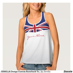 JERRILLA Design Custom Racerback Top Great Britain