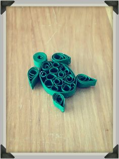 Quilling Turtle