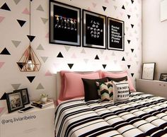Teen girl bedrooms, decorating trick number 5891433566 to decorate the area up now. Room Decor For Teen Girls, Teenage Girl Bedrooms, Girls Bedroom, Teenage Room, Girl Rooms, Cute Room Decor, Room Decor Bedroom, Bedroom Ideas, Home Room Design