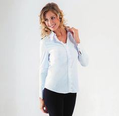 chemisier blanc ou noir CpourL.fr Blouse, Tops, Women, Fashion, Shirt Blouses, Trendy Outfits, Fall Winter, Black And White, Moda