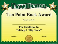 Free Funny Award Certificates Templates  Sample Funny Award