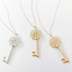 cute monogram key pendants http://rstyle.me/n/uq7a5r9te