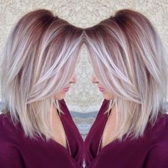 20 Fabulous Summer Hair Color Ideas – Amazing Hair Colours Straight Lob Hairstyle – Ombre, Balayage Hair Styles - Unique World Of Hairs Ombré Hair, Hair Day, New Hair, Curly Hair, Hair Locks, Summer Hairstyles, Cool Hairstyles, Blonde Hairstyles, Medium Hairstyles