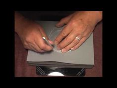 ▶ Parchment Craft PCA Large French Curve with Large ScallopEdge Demo - YouTube