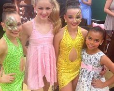 Maddie,Chloe,Kendall,and Asia