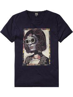 T-Shirt im Rocker-Stil | T-Shirt S/S | Herrenbekleidung von Scotch & Soda